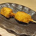 台中中友百貨日本料理串炸的「天串」
