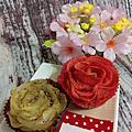 捷運中山站Her Rose甜點店的花朵甜點!