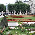 2013奧地利之旅 day1~2 米拉貝爾花園~薩爾茲堡