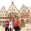 2014德國之旅day 2 法蘭克福~皇帝大教堂~尼古拉教堂~正義女神雕像