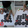 [手工玩具]自製磁性道路拼圖+七巧板