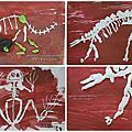 [親子勞作] 捏出一副骨頭化石~