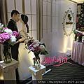 浪漫甜美公主風婚禮佈置