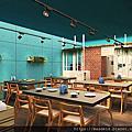 輕食主題餐廳設計案