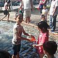 桃園市民族公園玩水