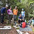 20160703 ROUND 2 新體驗,跟著馬克老師去爬山。霞客羅古道→霞客羅大山;左籐山撤退