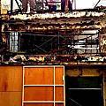 【2014.02.26】鐵工採光屋頂+泥作內外牆