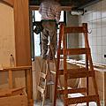【Day23】4/23 拱牆施作,吧台高架地板