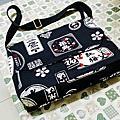 日本酒標帆布書包
