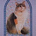Agneatha on Mrs. Jones' Cathedral Patchwork