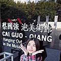 蔡國強-泡美術館