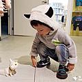 2016-11-13-7【寶寶穿搭。麗嬰房】2016秋冬新裝試穿募集活動,Fun系列小怪獸刷毛帽T設計款搶眼百搭又保暖! #羕1y11m-