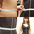 試穿LOLINYA蘿琳亞頂級塑身衣訂做   蘿琳亞塑身衣 緊緻雙S拉繩