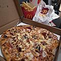 2012-05-13 Family Pizza-我的母親節套餐