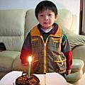 小拓3歲生日