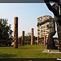 20090222-吳炫三雕塑作品-圖騰與傳說—我們都是一家人
