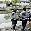 【日本。北九州】福岡縣柳川市♡輕歌扁舟。柳川人力遊船