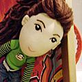 米芭菈手作-F-人形Q版布娃
