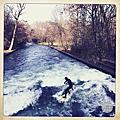 Eisbach冰溪|慕尼黑市區衝浪<英國花園>