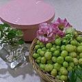 梅漬白櫻桃&破布子、柚子洗劑、白柚果凍、蜜金棗