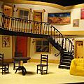 《烏鴉小屋》舞台設計模型 Rookery Nook Set Model
