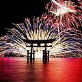 日本夏季花火大會