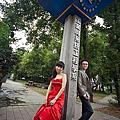 放風箏婚紗-第2套紅禮服