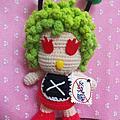 編織玩偶作品