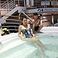 公主郵輪-泳池