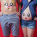 孕婦寫真-素背景便服