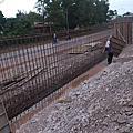 馬來西亞SST公司廠辦新建工程~道路.廠房施工照片