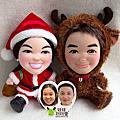 *〔聖誕公公&麋鹿〕的娃娃們*