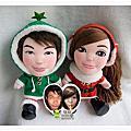*〔聖誕紅配綠〕的娃娃們*