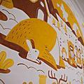 牆壁彩繪-保姆家