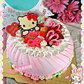 kt的服裝展示間與彩繪蛋糕