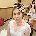 高雄新祕-誠意新娘秘書joleenyi~甜美新娘Cassia Tsai-全美餐廳結婚迎娶