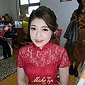 甜美韓系新娘-翊婕。台中文定