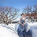 北海道婚禮+自助婚紗-小白vs.david