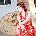 103.2m 紅旗袍