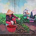 蘆竹務農彩繪村