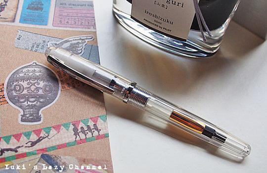 跳入鋼筆坑!我人生中的第一支鋼筆-「白金透明鋼筆」