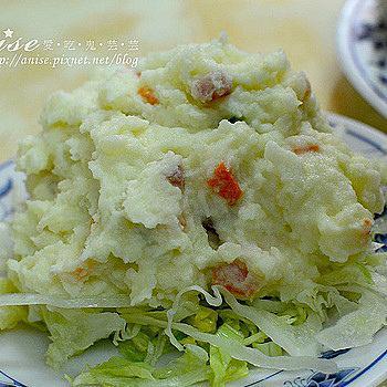 超紅馬鈴薯生菜沙拉。每一口都是幸福