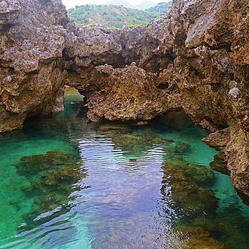 東清秘境,珊瑚岩下的絕讚美景