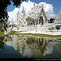 清萊一日遊之天然溫泉+白廟