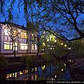 岡山倉敷美觀地區-黃昏與夜
