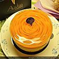 艾樂比手作烘焙坊:芒果玫瑰慕斯蛋糕 紅玉紅茶鳳梨酥