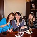 2009/11/23 我的美瑛再見送別會 in Vin Verre (美瑛最棒的wine bar)