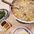 【食‧新北板橋】捷運新埔站。糊塗羊肉爐 ~冬季吃鍋│羊油麵線 必點