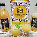 【食‧賣場】瓶裝果汁推薦。KiwiFarm 100%紐西蘭黃金奇異果汁 ~一瓶等於15顆黃金奇異果