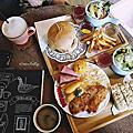 【食‧新北板橋】捷運江子翠站。Fuku Brunch 甜福 ~大滿足的早午餐拼盤